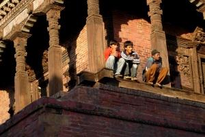 Bhaktapur, Nepal. February 2006